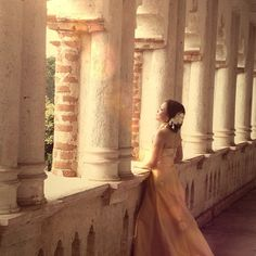 Prewedding photo #wedding #photo #sunset #kelliecastle
