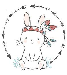 Plottervorlage Lulu Indianer - Enthalten ist Lulu in mehrfabrig und einfabrig als vorsepartierte Plottervorlage. Cute Animal Drawings, Cute Drawings, Simple Drawings, Doodle Art, Scrapbooking Image, Baby Animals, Cute Animals, Baby Giraffes, Wild Animals