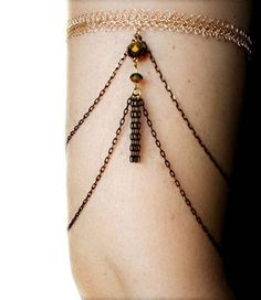 #Boho arm cuff with two colored #black and gold chain and gold crystal beads. The upper part of the bracelet is crocheted by hand with a tiny #crochet hook anf fine wire.  Thi... #handmade #jewelry #boho #etsy #epiconetsy #shopping #shopsmall #jewelryonetsy #etsyseller #adjustable