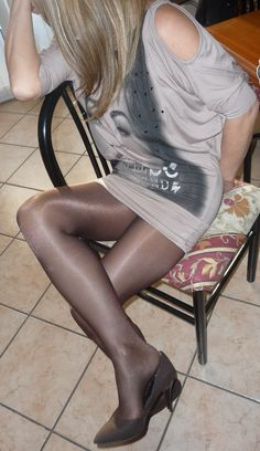 pantyhose shiny in jules tights Suburban blue