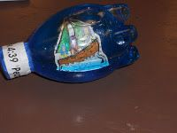 Instructions for making a ship in a bottle craft for the storm on the sea that Jesus calmed.