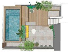 °° Petite piscine hors-sol à Marseille °° - °°lejardindeclaire°° Murs Roses, Garden Pool, Balconies, Porches, Pools, Landscape Design, Villa, Outdoor Decor, House