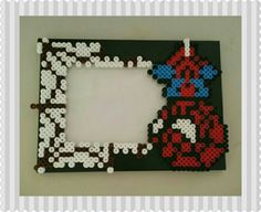 Spiderman Perler Foto Frame