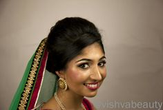 Vishva Beauty. London.  The Traditional Bridal Look.  Info@vishvabeauty.com  Jewellery - @kaustubhajewels  Model - @naimisha  Follow us on Instgram - @vishvabeauty