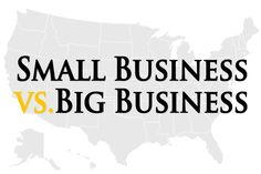 Small Business vs Big Business