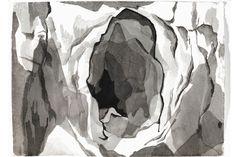 """057. """"Ingressi"""", aquarello su carta cotone /watercolor on cotton paper, 78 x 58,5 cm, Milano 2010."""