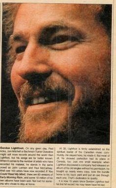 Gordon Lightfoot, Vintage Photos, Musicians, Singer, York, Hair, Inspiration, Biblical Inspiration, Singers