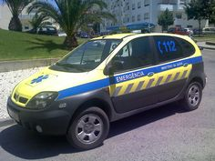 inem portugal - Google Search Emergency Response, Emergency Vehicles, Police Cars, Ambulance, Van, Portuguese, Portugal, Safety, Medical