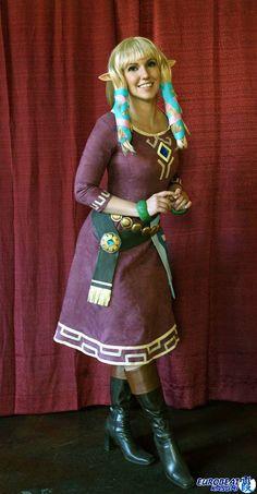 Zelda from #Skyward_Sword, by Jacqueline Goehner