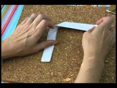 How to fold a note to pass in school, an old fashioned origami note