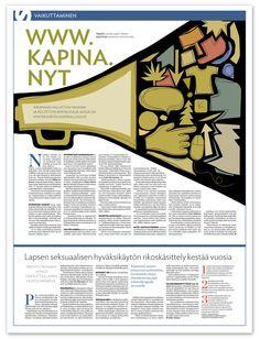 Kuvitus kapinajuttuun. www.kapina.nyt