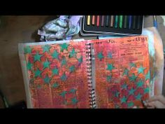 Art Journal Page-Have a Blast - YouTube