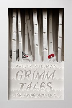 Gorgeous cover for the British edition of Philip Pullman's retelling of the Grimm fairy tales by designer Cheong-ah Hwang.