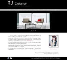 Site web rjcreation.com | R'J Création - Conseil en décoration d'intérieur et créateur d'espace à vivre