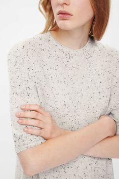 COS   Speckled Cashmere Dress