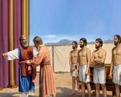 Las vestiduras sacerdotales ver Éxodo capítulo 28