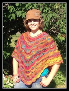 The crochet virus poncho is now available! It is one of the most beautiful and comfortable ponchos you will every make. I have written u...