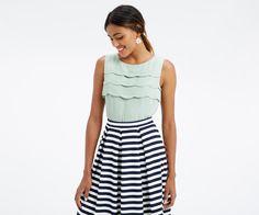 Oasis | Scallop sleeveless top