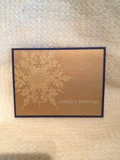Snowflake bling I Card, Snowflakes, Festive, Christmas Cards, Bling, Noel, Christmas E Cards, Jewel, Snow Flakes