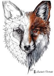 Image result for animals with trees inside them sketch