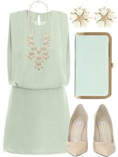 """Soft Sea Foam"" by qtpiekelso on Polyvore"