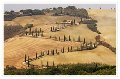 """(Road at Foce, Tuscany, by Brian Clark) """"What does a road have to do with sexuality? A roadway is a dramatic means of shaping our world, rising up from deep in the imagination. We see ourselves in our roads, because they are an external manifestation of our values and sensibilities. If they are noisy and speedy, they reflect our insensitivity to noise and our impatience. If they are beautiful and calming, they reveal our own appreciation for beauty and peace."""" ~ Thomas Moore, The Soul of Sex"""
