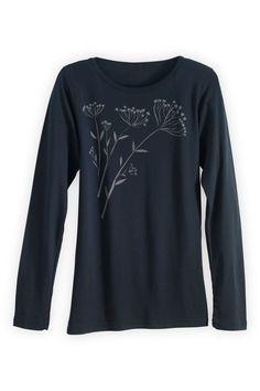 04e3ce89fe54 Green 3 Apparel Long-sleeve Fennel Organic USA-made T-shirt (XL