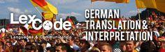 Need German translation and interpretation? LEXCODE IT! Visit www.lexcode.com.ph now!