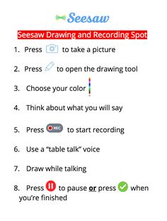 Meet the teacher template with Seesaw note Back