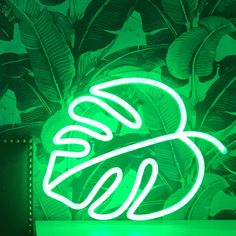 Who needs a green thumb? The perfect way to have a houseplant, even better it doesn't require water. Buy our Monstera Leaf LED neon sign or a custom neon sign from Brite Lite Tribe and live a colourful life! Green Aesthetic Tumblr, Mint Green Aesthetic, Rainbow Aesthetic, Aesthetic Colors, Aesthetic Collage, Aesthetic Backgrounds, Aesthetic Iphone Wallpaper, Green Backgrounds, Aesthetic Wallpapers