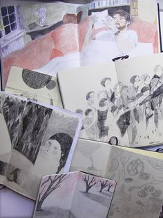Melissa Castrillon's Sketchbooks
