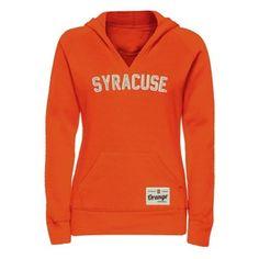 Syracuse Orange Ladies Legacy Pullover Hoodie - Orange