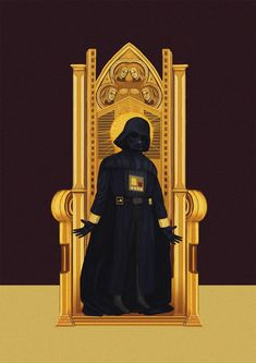 'Star Wars' Characters As Religious Icons - DesignTAXI.com