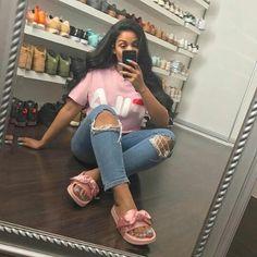 sherlinanym on We Heart It Source by simplytyonee outfits Fashion Moda, Teen Fashion, Fashion Outfits, Womens Fashion, Dope Outfits, Casual Outfits, Look Jean, Vetement Fashion, Fashion Killa