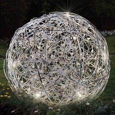 Pallo Pöytälamppu 50-poltin / alumiini 50x LED 7.2W yhteensä -