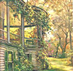 My Puzzles - Vintage Stuff - Sunrise from Porch 1933