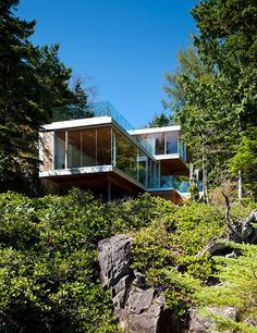 Gambier Island House | designed by the McFarlane Green Biggar Architects + Designers
