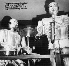 Rockin` Robot Band 'Trio Fantastique' From 1954 [4 Pics] Watch the video: http://www.chaostrophic.com/