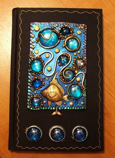 Deep blue sea journal  by MandarinMoon, via Flickr