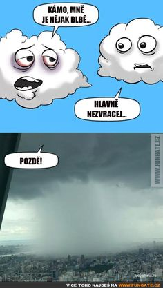 Haha, so funny Funny Cartoons For Kids, Funny Cats And Dogs, Funny Comics, Funny Kids, Weather Puns, Cold Weather Funny, Rain Jokes, Rain Meme, Funny Jokes