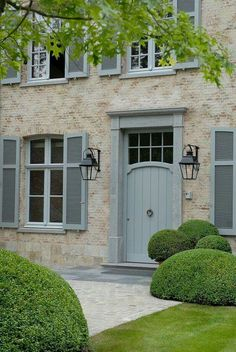 Front door style - maybe this is an option with higher windows.