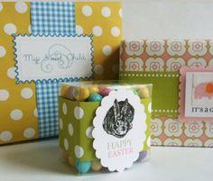 Paper ribbon. Labels