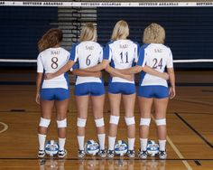 Photo courtesy of Grisham Photography – From Parts Unknown Volleyball Team Pictures, Volleyball Poses, Softball Senior Pictures, Female Volleyball Players, Volleyball Shorts, Soccer Pictures, Women Volleyball, Beach Volleyball, Volleyball Setter