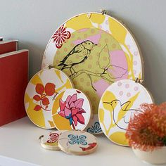 Textile Designers We Love: Anna Maria Horner. 16 projects featuring Anna Maria's fabric designs.