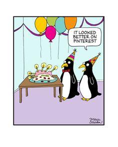 Pinterest Fail Penguins Print