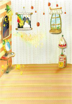 background 5x7ft children cartoon Photo Studio photography backdrops stor photography vinyl photo props photo backdrops