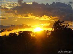 Pôr do Sol, voltando para Brasília