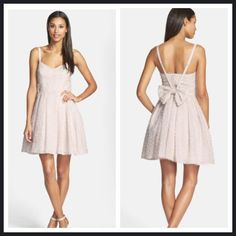 French Connection Dress Brand new. Price firm. Bow is detachable. French Connection Dresses