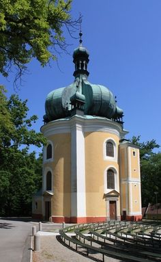 Pilgrimage chapel of the Holy Virgin Mary in Lomec (South Bohemia), Czechia