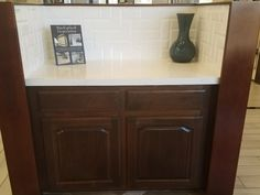 Dark Cabinets, Quartz Countertops, Backsplash, Kitchen Design, Kitchens, Interior Design, Creative, Cotton, Inspiration